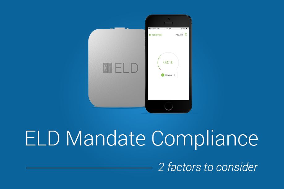 Onboard Recorders: Two factors to consider for ELD mandate compliance