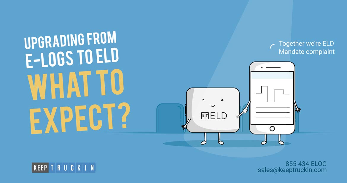 Upgrading from E-Logs to ELD: What to Expect?