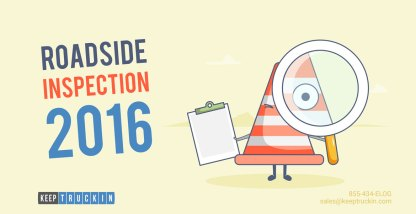 Everything You Need to Know About Roadside Inspection 2016