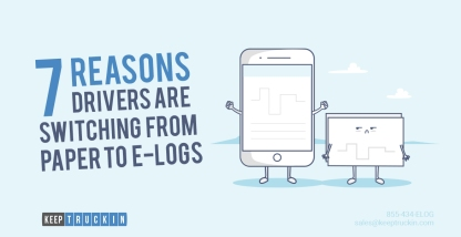 7 reasons drivers are switching from paper to e-logs ASAP
