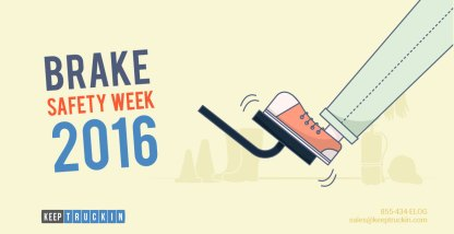 How To Make The Most Of Brake Safety Week 2016
