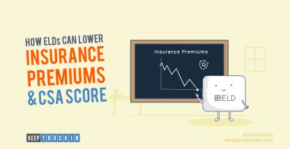 How ELDs Can Lower Insurance Premiums and CSA Score