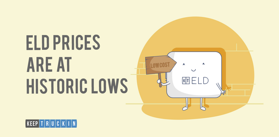 ELD Prices At Historic Lows