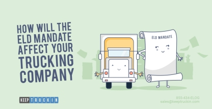 How Will The ELD Mandate Affect Your Trucking Company