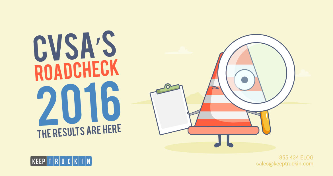 CVSA's Roadcheck 2016: The Results Are Here