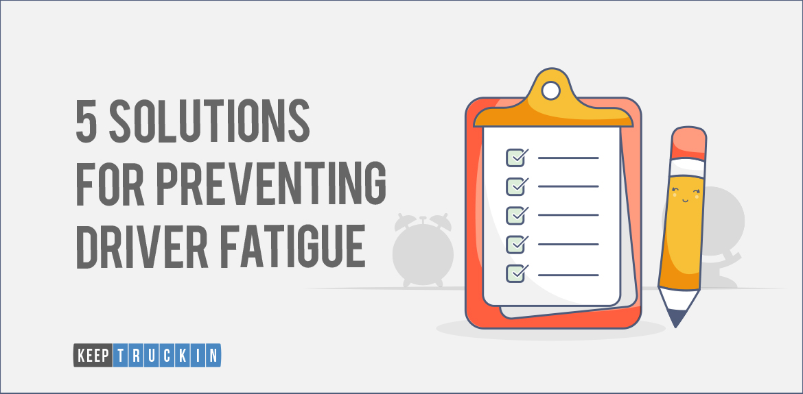 5 Solutions for Preventing Driver Fatigue