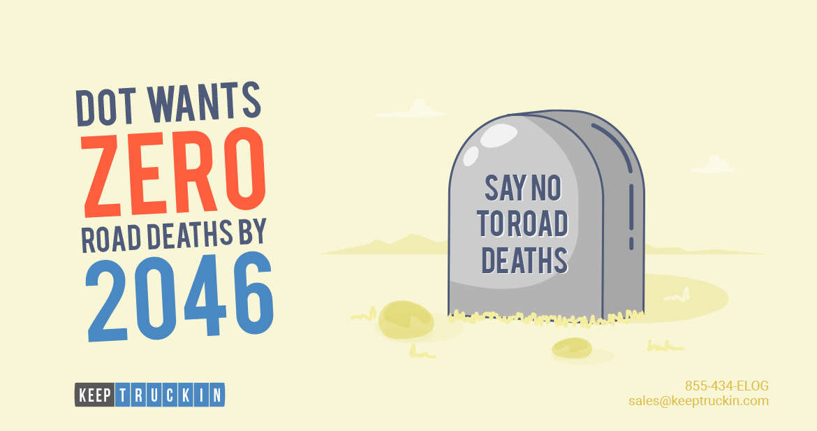 DOT Wants 0 Road Deaths by 2046