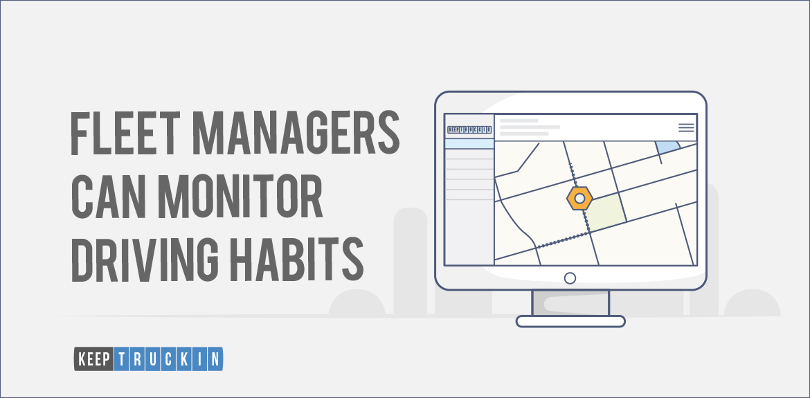 Fleet Managers Can Monitor Driving Habits