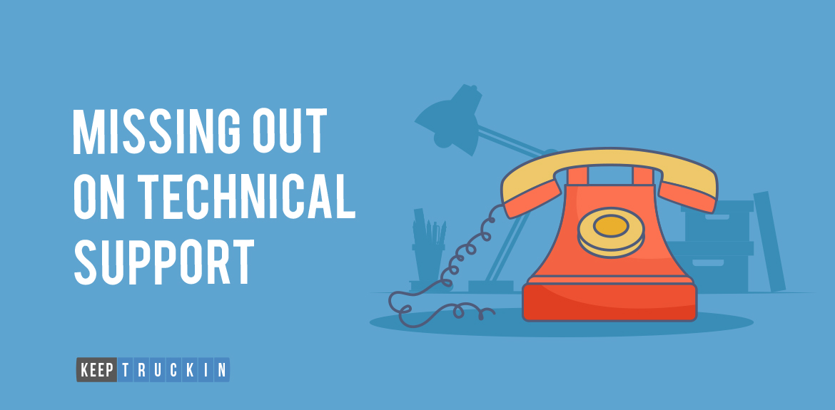 Missing out on Technical Support