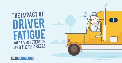 The Impact of Driver Fatigue on Driver Retention and Their Careers