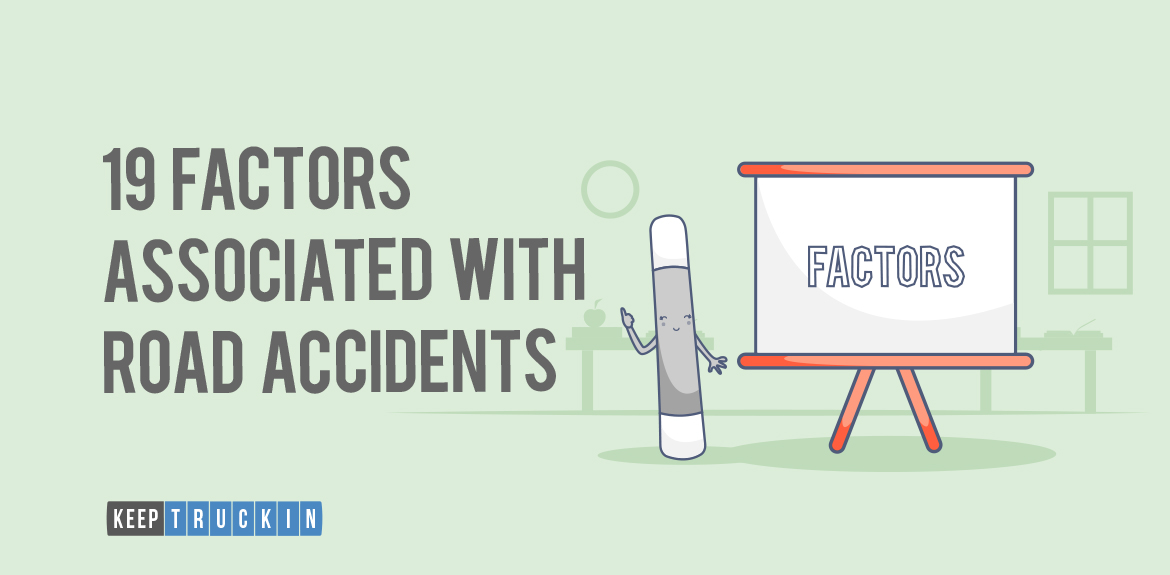 19 Factors associated with road accidents