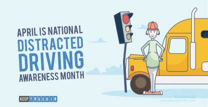 April is National Distracted Driving Awareness Month