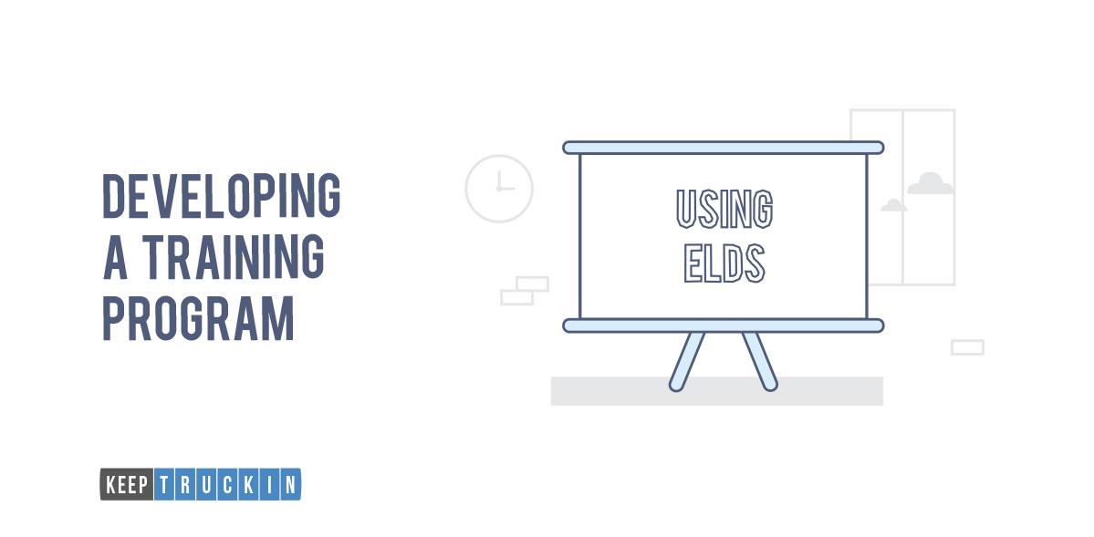 Developing a Training Program for ELD Implementation