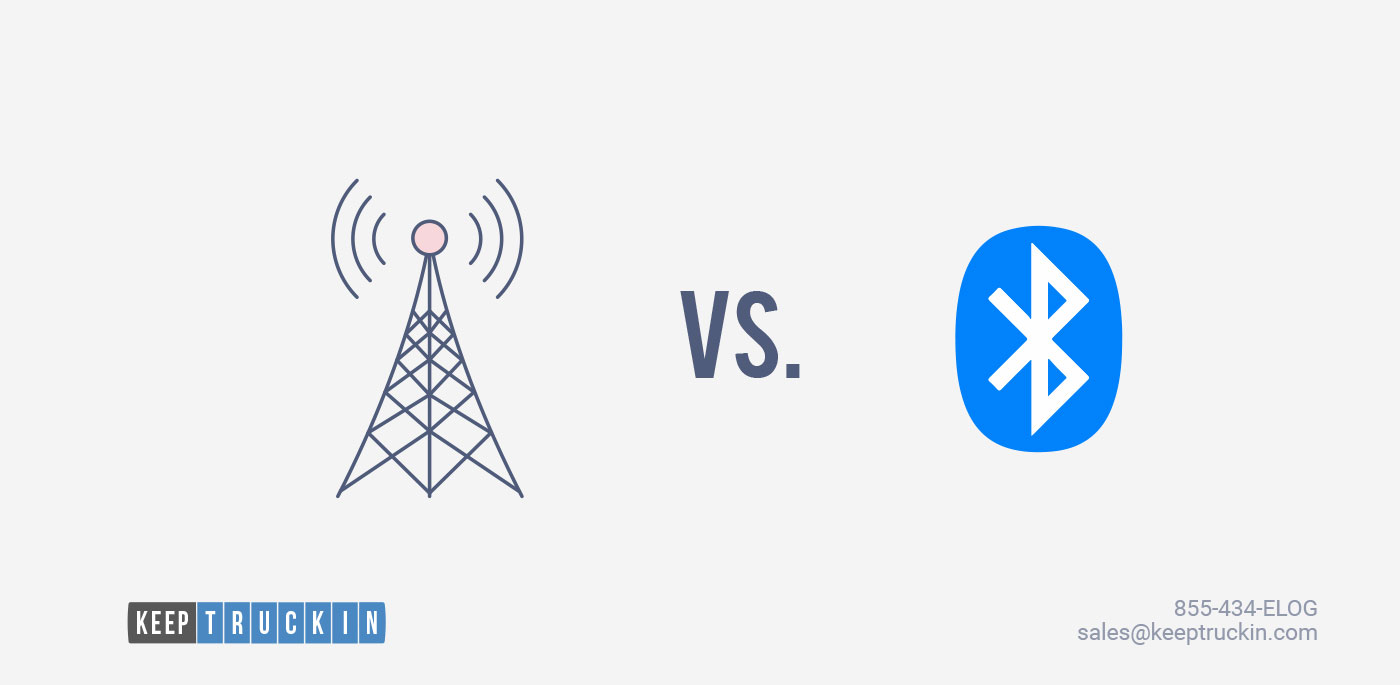 Cellular vs. Bluetooth: How KeepTruckin Helps Ensure Compliance With Bluetooth