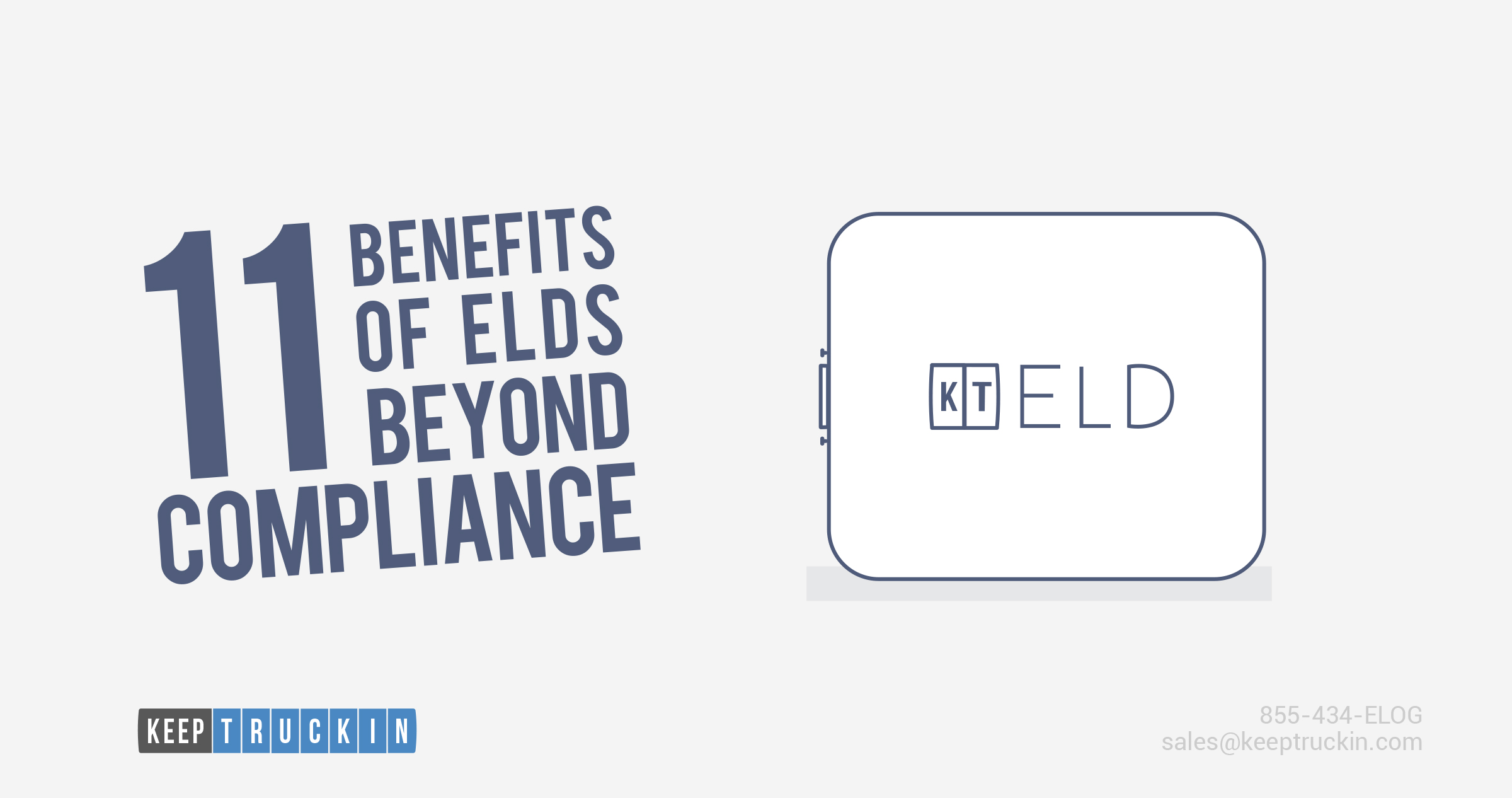 11 Benefits of ELDs Beyond Compliance