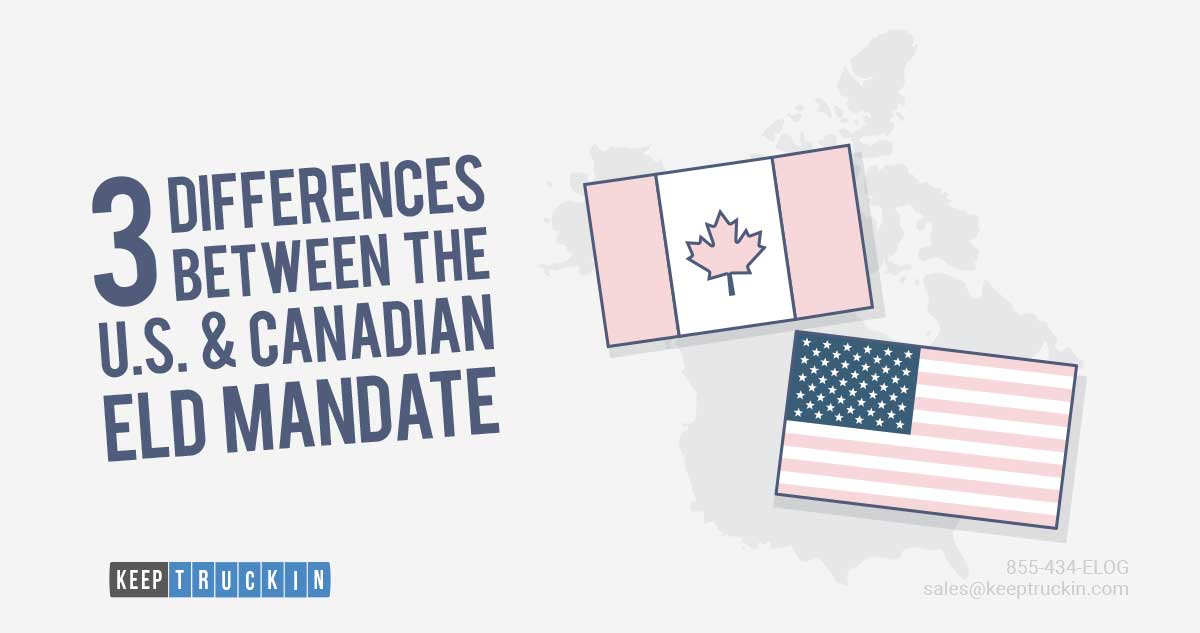 3 Differences Between the U.S. & Canadian ELD mandate