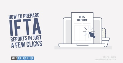 How to prepare IFTA reports in just a few clicks