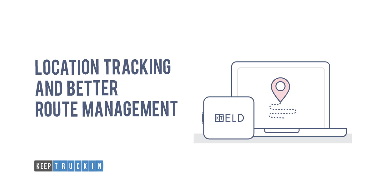 Location Tracking and Better Route Management is one of the many ELD benefits