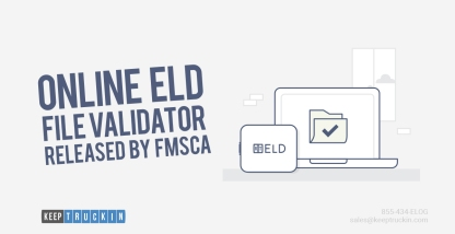The FMCSA Releases Online ELD File Validator