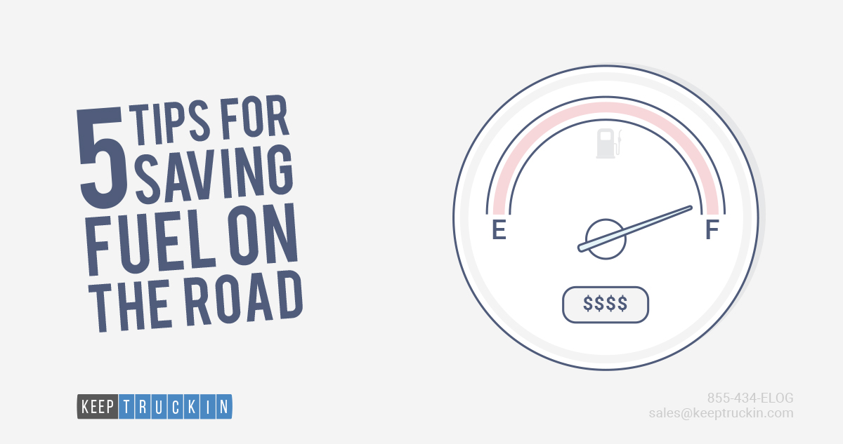 5 Tips for Saving Fuel on the Road