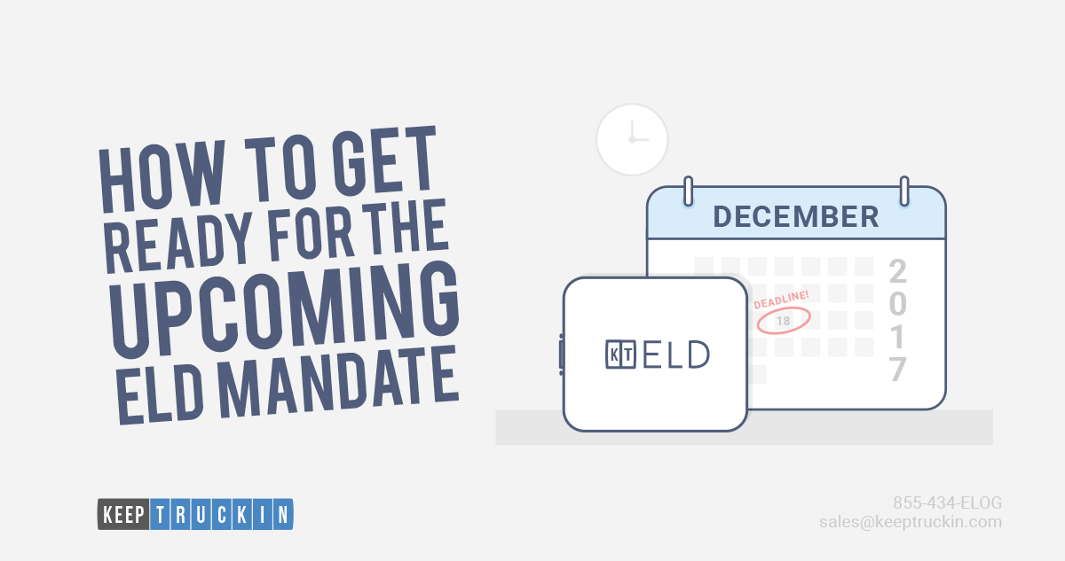How to Get Ready for the Upcoming ELD Mandate