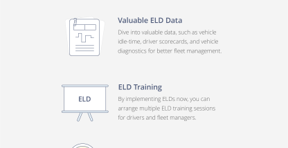5 Benefits of Installing ELDs Right Now [Infographic]
