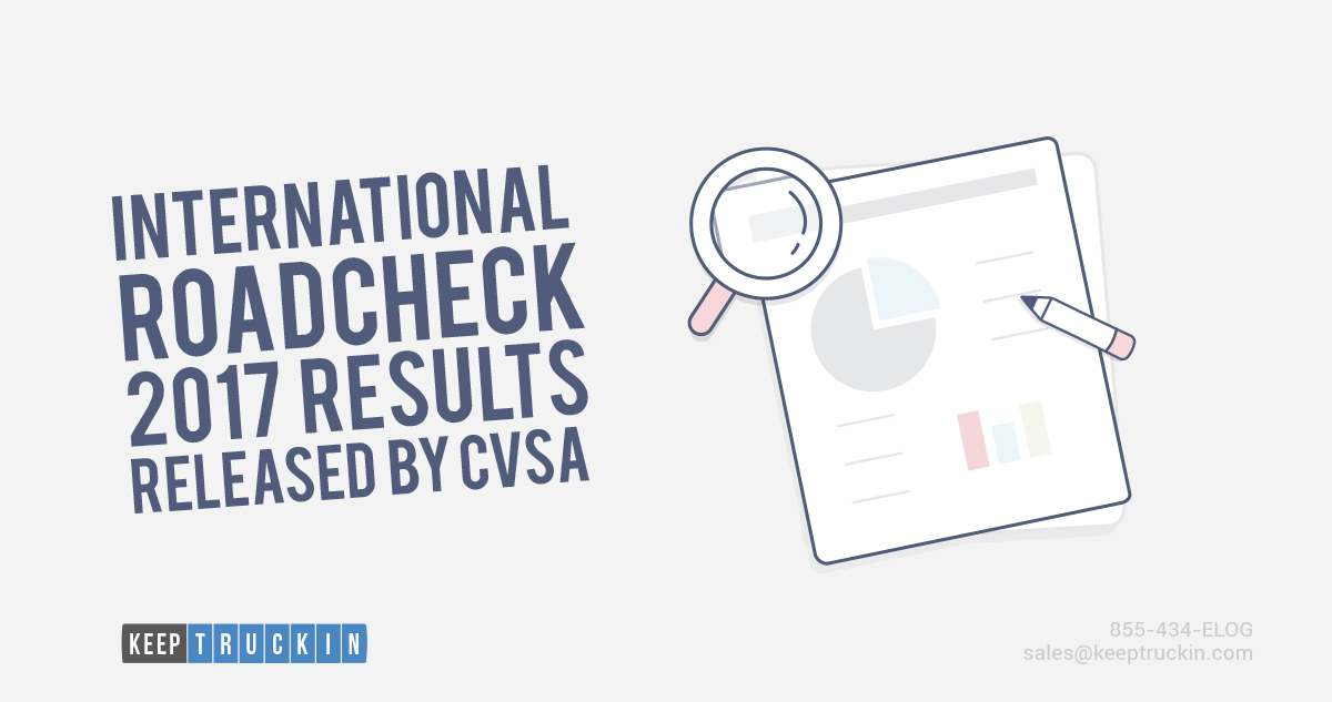 International Roadcheck 2017 Results Released by CVSA