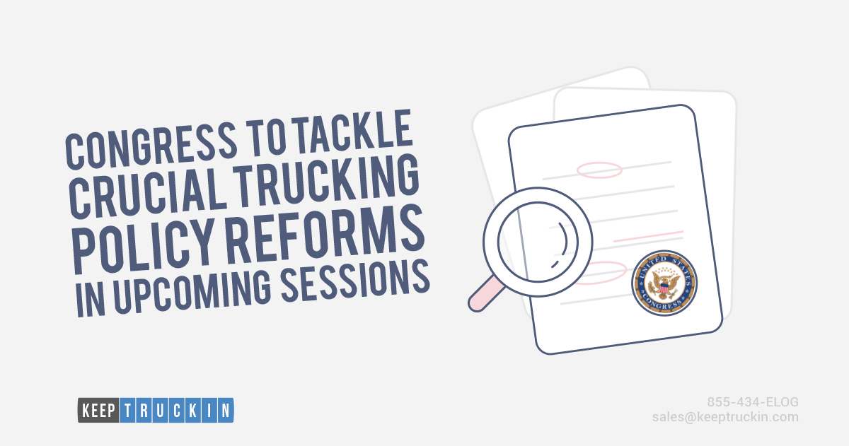 Congress to Tackle Crucial Trucking Policy Reforms in Upcoming Sessions