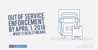 OOS Enforcement by April 01, 2018 — What It Really Means