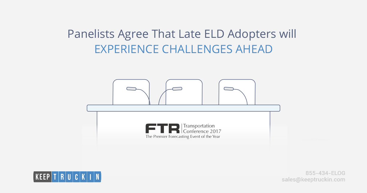 Panelists Agree That Late ELD Adopters Will Experience Challenges Ahead