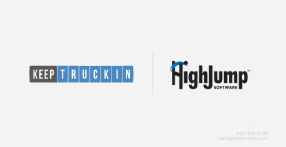 KeepTruckin Integrates with HighJump's Prophesy Dispatch TMS
