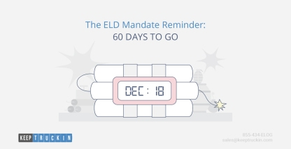 The ELD Mandate Reminder: 60 Days to Go