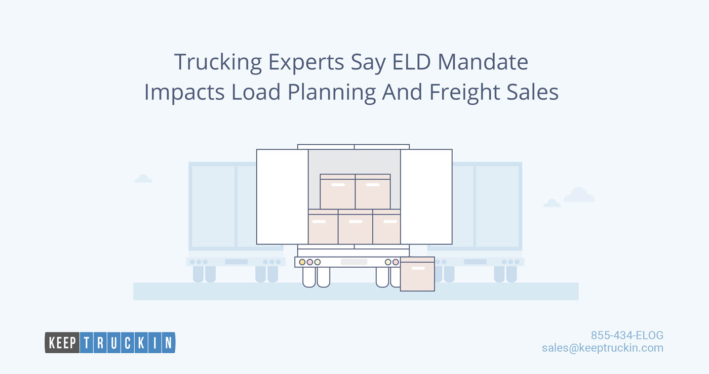 Trucking Experts Say ELD Mandate Impacts Load Planning and Freight Sales