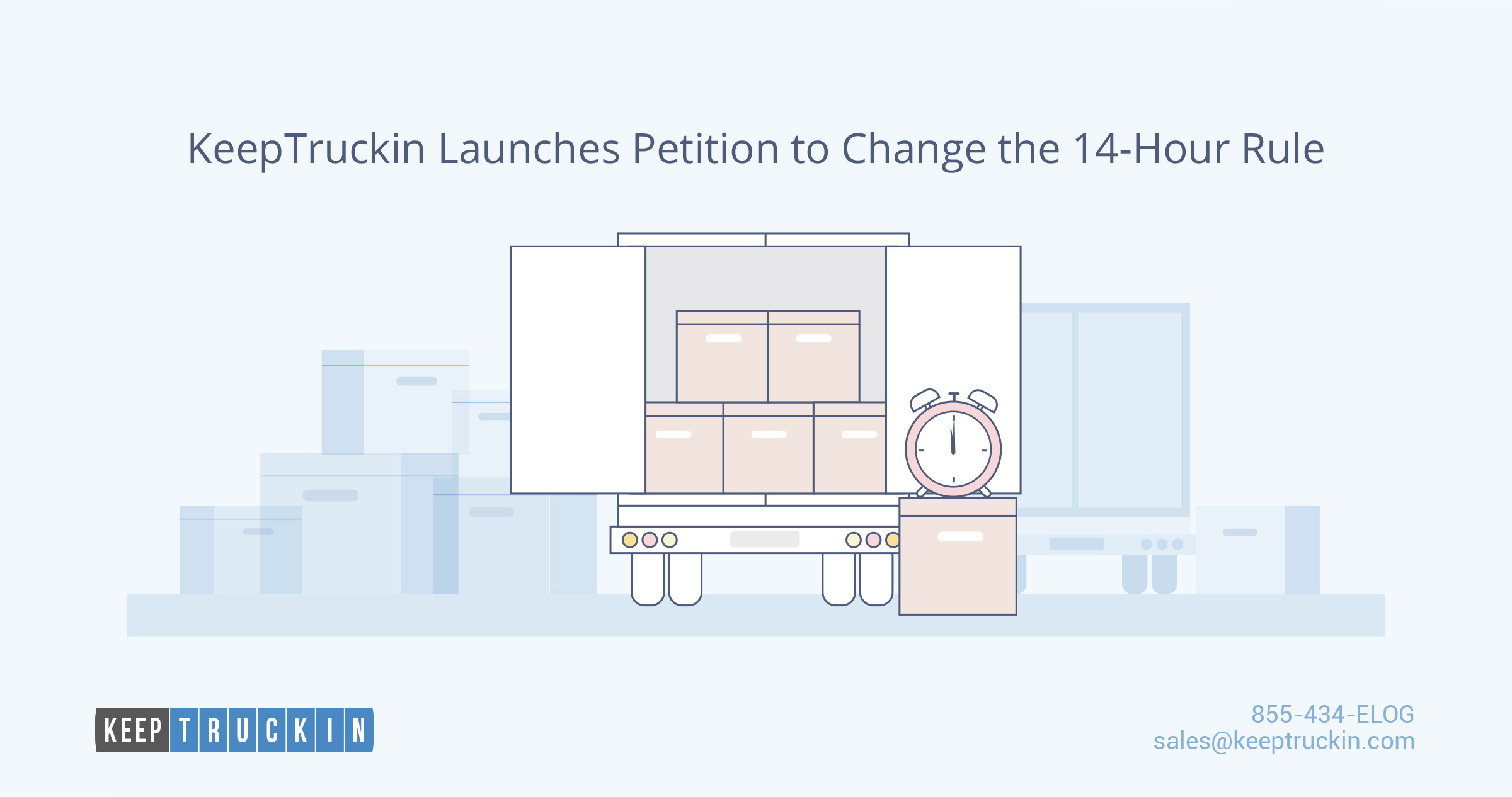 KeepTruckin Launches Petition to Change the 14-Hour Rule