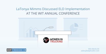 LaTonya Mimms Discussed ELD Implementation at the WIT Annual Conference