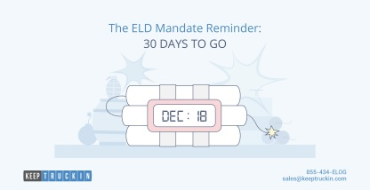 The ELD Mandate Reminder: 30 Days to Go