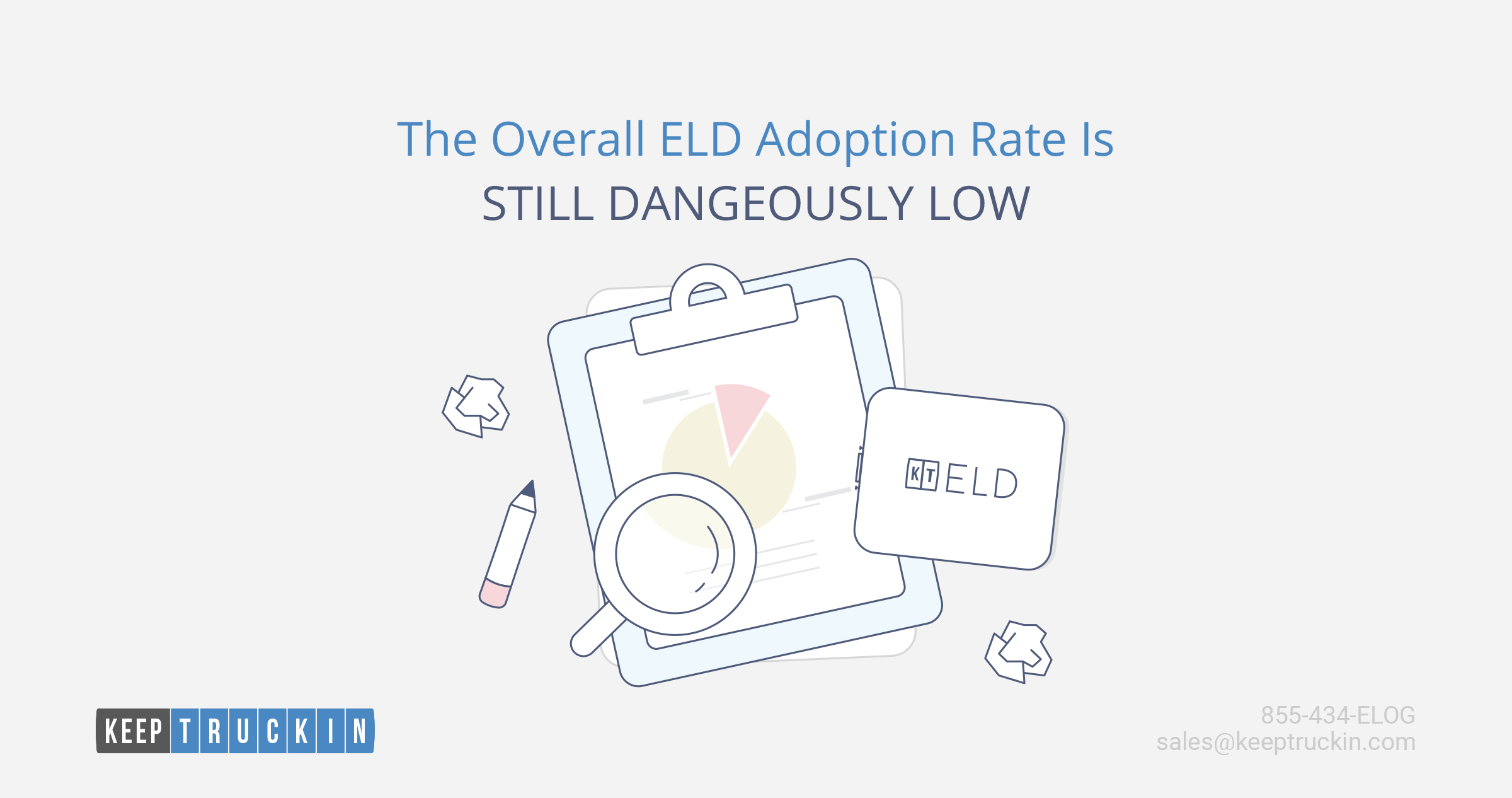 The Overall ELD Adoption Rate is Still Dangerously Low