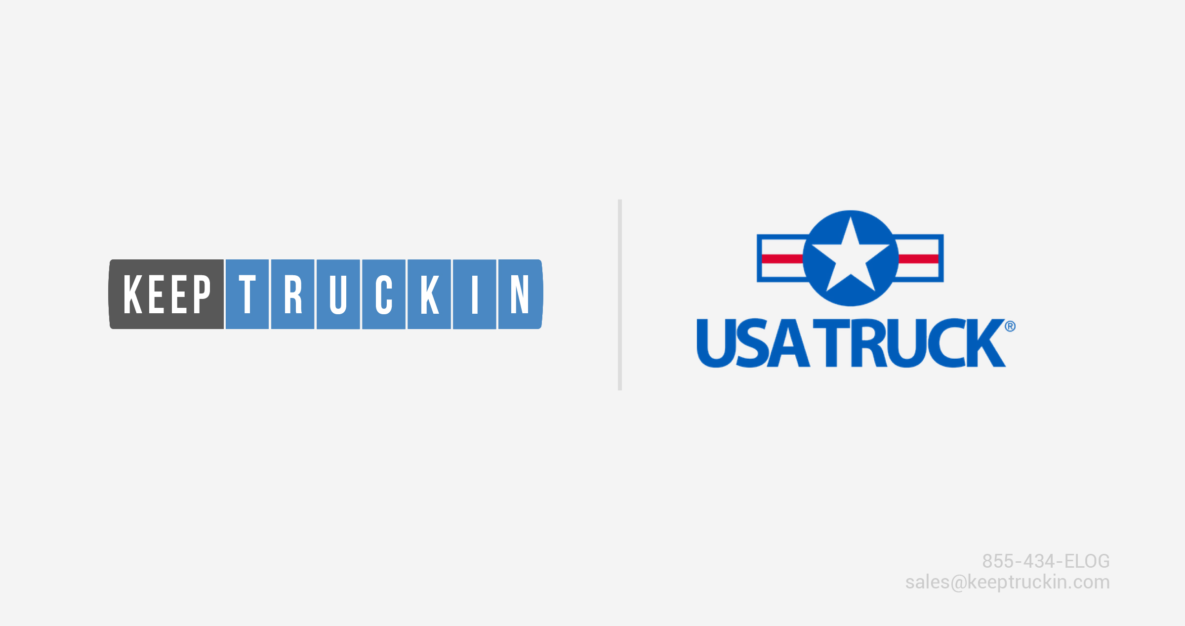 USA Truck Partners With KeepTruckin to Help Carriers With ELD Mandate