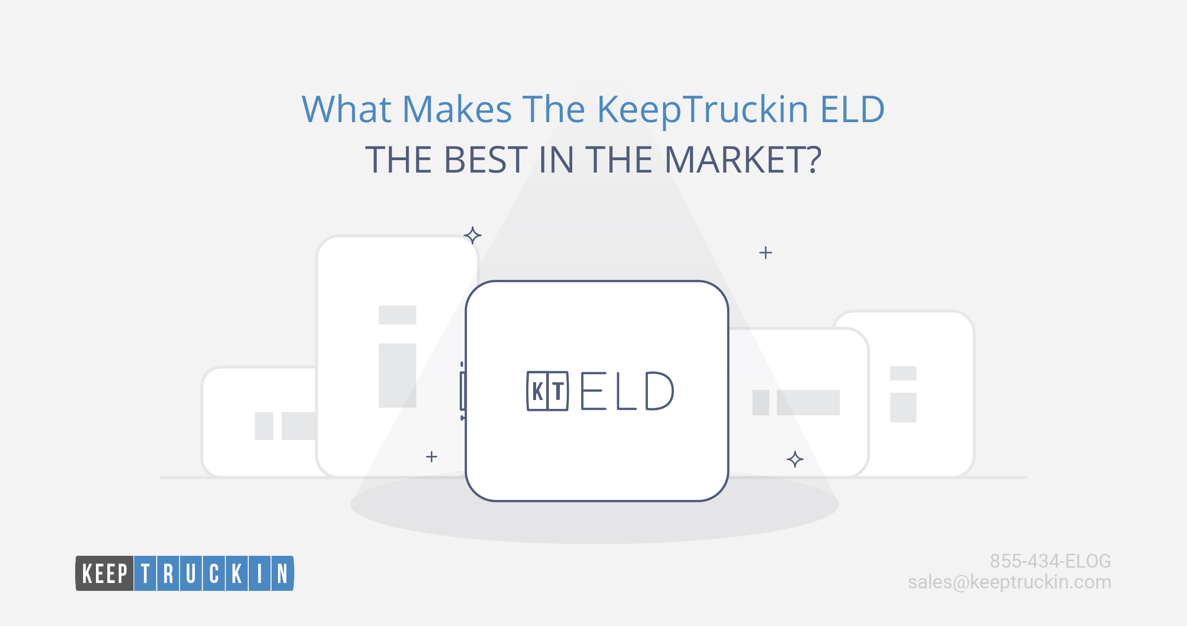 What makes KeepTruckin ELD the best in the market?