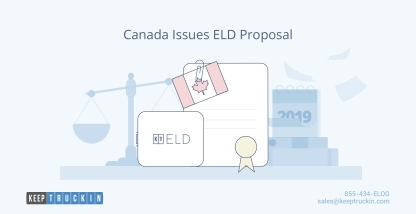 Canada Issues ELD Proposal