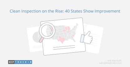 Clean inspections on the rise: 40 states show improvement