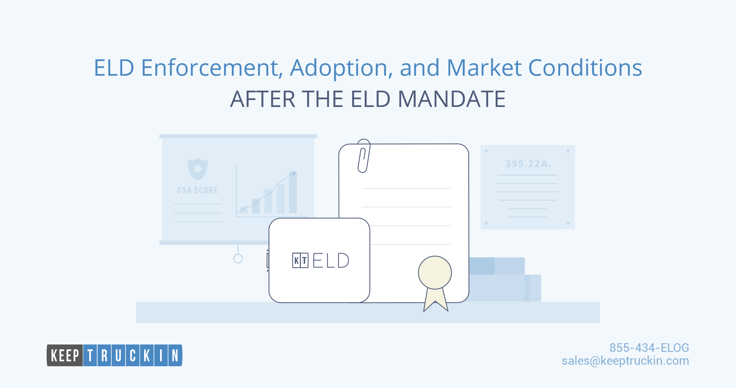 ELD enforcement, adoption, and market conditions after the ELD mandate
