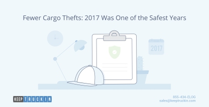 Fewer cargo thefts: 2017 was one of the safest years