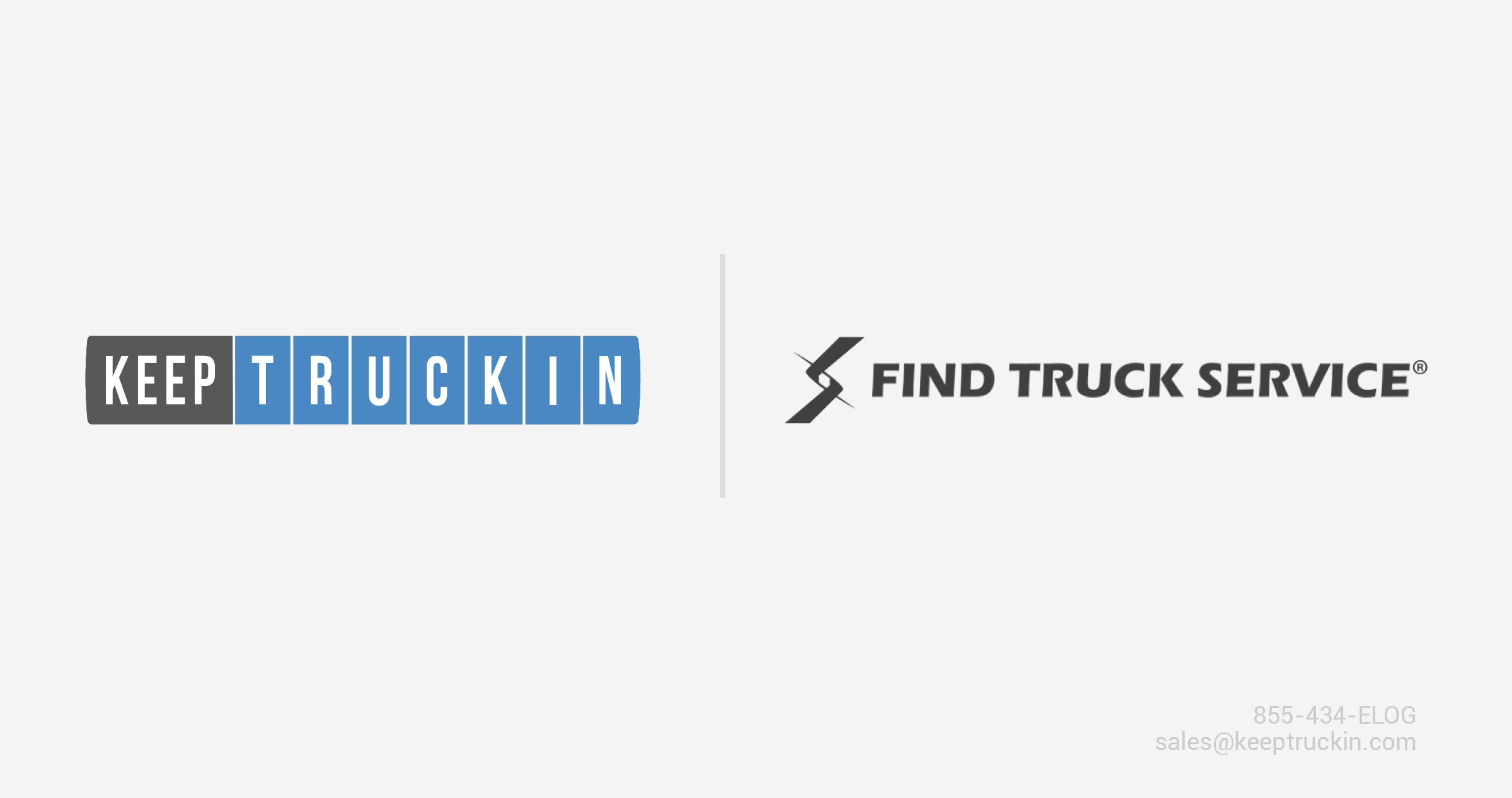 KeepTruckin and Find Truck Service partner to help truckers with ELD compliance