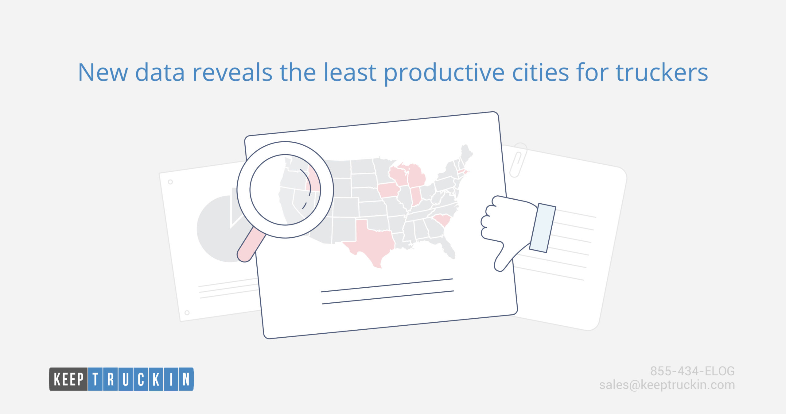 New data reveals the least productive cities for truckers