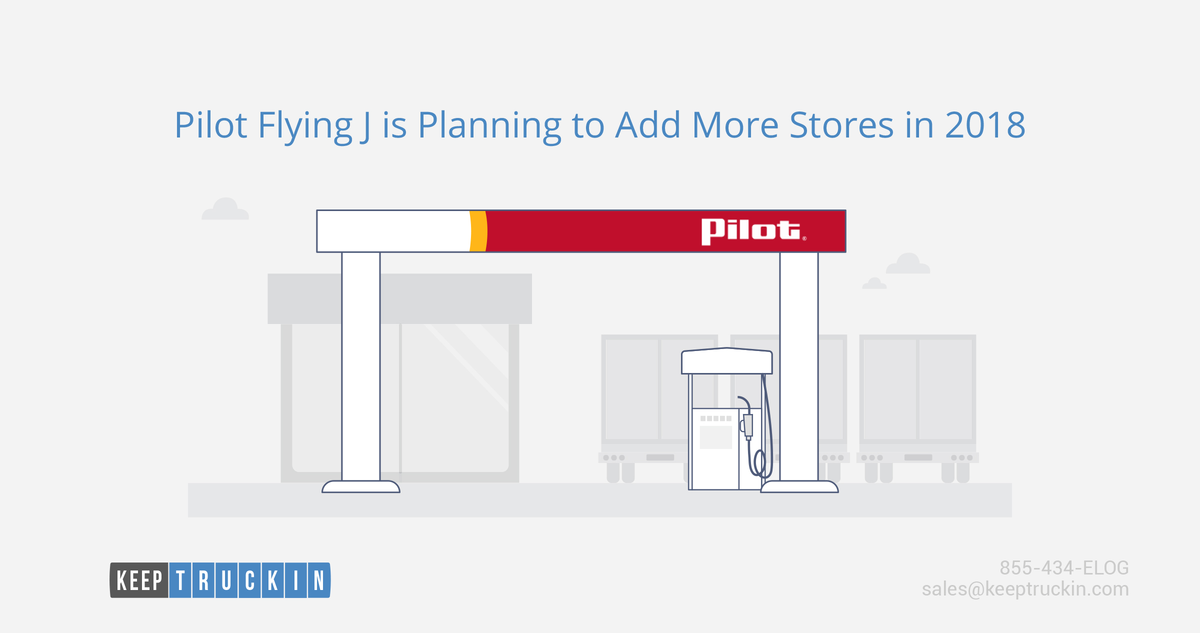 Pilot Flying J is planning to add more stores in 2018
