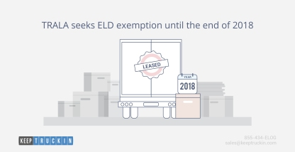 TRALA seeks ELD exemption until the end of 2018