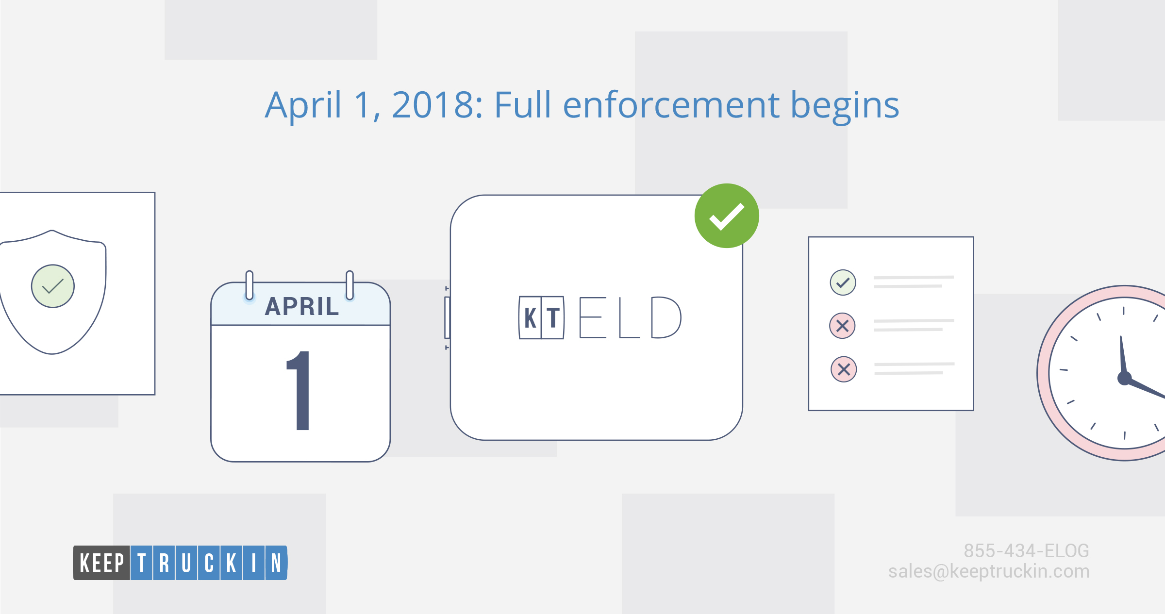 April 1, 2018: Full enforcement begins