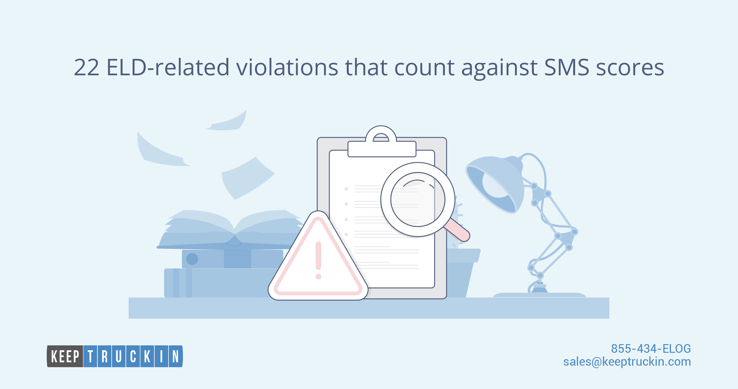 22 ELD-related violations that count against SMS scores