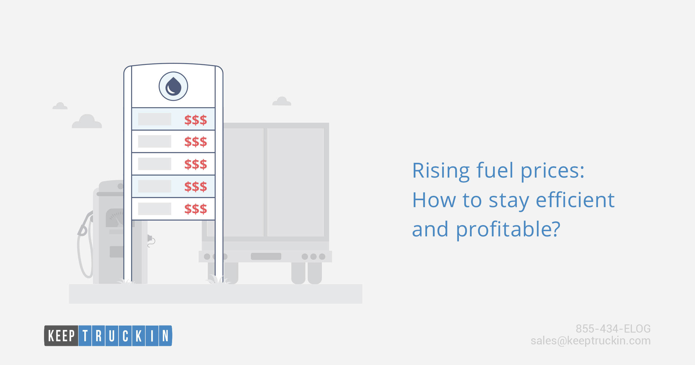 Rising fuel prices: How to stay efficient and profitable